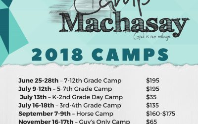 2018 Camps!