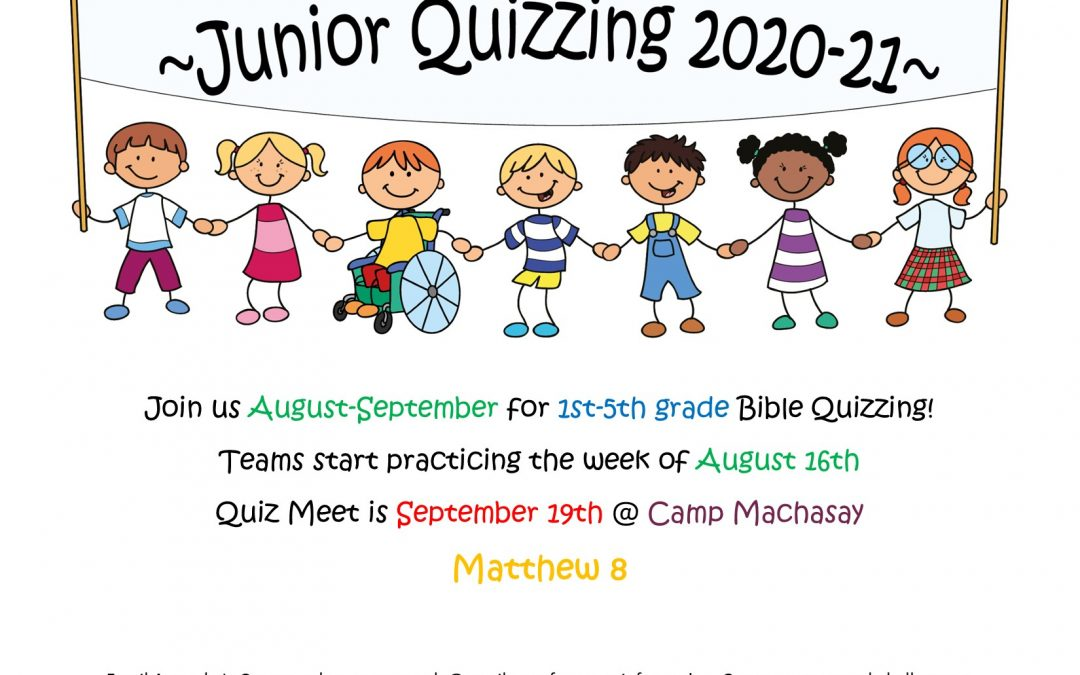 Junior Quizzing